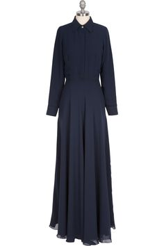 The Florence Dress - Navy