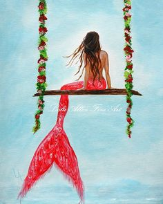 Hey, I found this really awesome Etsy listing at https://www.etsy.com/listing/170262954/mermaid-art-print-giclee-mermaids