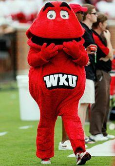 wku big red mascot | Western Kentucky: Big Red