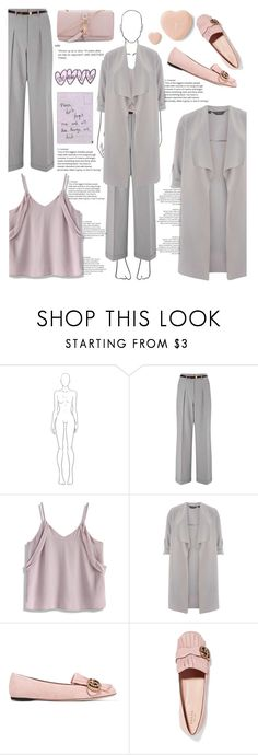 """""""Tell me that I hate you..."""" by she-fashionlove ❤ liked on Polyvore featuring Miss Selfridge, Chicwish, Dorothy Perkins, Gucci and AERIN"""