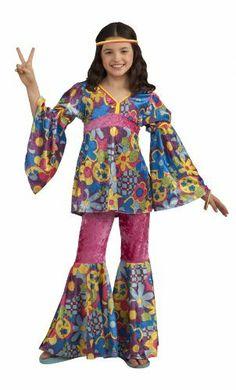 Childu0027s Hippie Costume Medium 8-10 by Forum Novelties. $26.99. Shirt. Headband  sc 1 st  Pinterest & Hippie Child Costume   Children costumes Costumes and Halloween ...