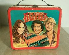 The Dukes of Hazzard 1980 lunchbox - the dukes cousins, No Thermos