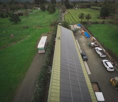 California Winery Uses Solar Power And Energy Storage