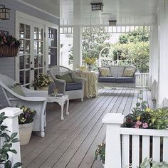 Creative Updates for Porches Dream porch for my dream house. Just needs friends. And a pitcher of sweet tea.Dream porch for my dream house. Just needs friends. And a pitcher of sweet tea. Outdoor Rooms, Outdoor Living, Indoor Outdoor, Gazebos, Home Goods Decor, Home Decor, Southern Porches, Country Porches, Farmhouse Front Porches