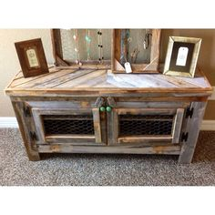 rex crown reclaimed barn wood rustic style tv standsofa table