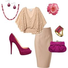 deeper shades of blush, created by tess-helmandollar-vanattia by roxie