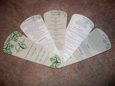 DIY Wedding Invitations,Programs, and More!