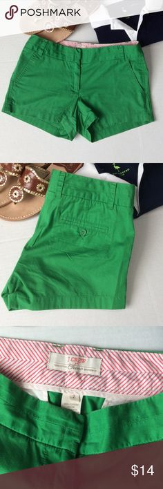 Kelly green shorts for you! J. Crew shorts, bright Kelly green! ☘️☘️ J. Crew Shorts
