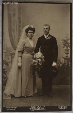 Franz Prodasnik & wife, wedding photo, Waidhofen a/d Enns, Austria