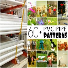 Need things to do during quarantine to keep you busy? Learn how to turn a PVC pipe into pvc pipe birds, animals, kids and more with these printable pvc pipe patterns from CrazyDiyMom Diy Projects Using Pvc Pipe, Pvc Pipe Crafts, Pvc Projects, Pvc Pipe Garden Ideas, Diy Crafts, Welding Projects, Diy Garden Decor, Easy Garden, Garden Art