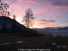 12tel Blick 2017 ins Ried vom Januar bis April Celestial, Mountains, Sunset, Nature, Travel, Outdoor, Photos, Nature Reserve, Sunrise