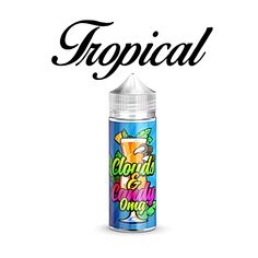 Tropical fruits blended together to create this awesome cold drink, sit back close your eyes and imagine your in paradise. 100ml - 0mg - 70vg - 30pg