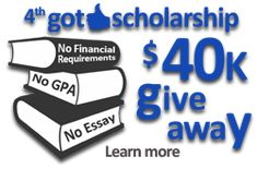 50 Best Scholarships Financial Aid Images On Pinterest Gym