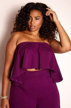 "Rebdolls ""You Got Me"" Pleated Two Piece Set"
