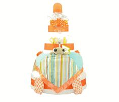 Finding Nemo Squirt Blanket & Book Diaper Cake