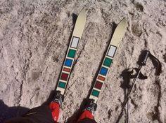 The Skis and Hanson Spyders Ski Equipment, Days Of Future Past, Alpine Skiing, Ski Wear, Vintage Ski, Retro, Nostalgia, Snow, Sports