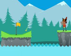 In Battle Golf's multiplayer get the ball in the hole before your friend does. Shoot a ball to the other side of the map to stun your opponent. Try to get to a score of 5 before your opponent in versus mode or work together in co-op mode. You can also play singleplayer vs the computer or try to s...
