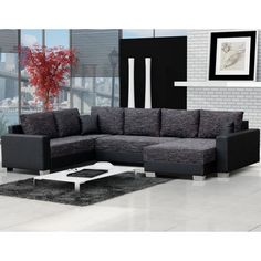 Corner Sofa Bed TOMASI, Fast Delivery!, Sleep Function, Storage Container, New