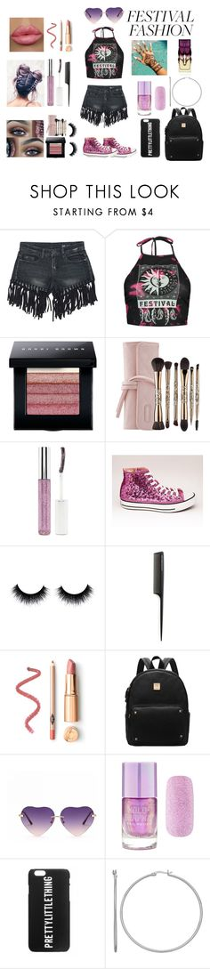 """""""Street beauty #18"""" by streetbeautyforever ❤ liked on Polyvore featuring Sans Souci, Boohoo, Bobbi Brown Cosmetics, Sephora Collection, Forever 21, GHD and Christian Louboutin"""
