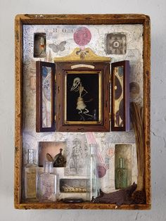 Nothing and All. Mixed media assemblage by Anastasia Osolin