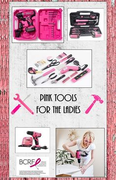 PINK Tools For Women  3 - 5 day delivery
