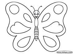 Las 24 Mejores Imágenes De Mariposas Infantiles En 2017 Insectos