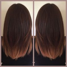 Brunette & Rose Gold