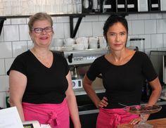 Marita ja Ullamaija, Kahvila Suvanto