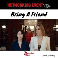 Bring a Friend - If you are able to attend an event with someone you know from another company, it is great to meet people together -- that way you can talk each other up. It can be so hard to boast about yourself and your firm's accomplishments, but your friend from another company can do that for you and vice versa. #networkingevents #businessevents #business Business Events, Business Networking, To Boast, Bring A Friend, Training Classes, Meet People, Upcoming Events, Growing Your Business, Business Opportunities