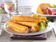 Φλογερες με τυρι και ζαμπον | Συνταγες για ολα τα γουστα!