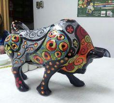toros de ceramica - Buscar con Google