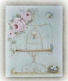 Birdcage & Roses