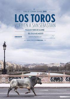 Vuelven los toros a San Sebastián!