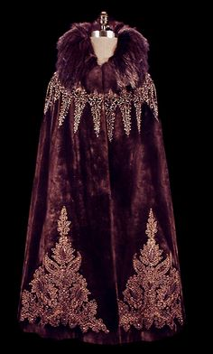 Art Deco Cape, The Frock