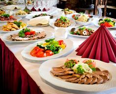 Stock Image: Food and Drink delicious buffet table at a luxury event spread with a variety of cold meat platters and fresh colorful salad and vegetables Catering, Meat Platter, Table Manners, Taste Made, Yummy Food, Tasty, Roasted Meat, Stock Image, Grilled Vegetables