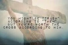 He died for us!
