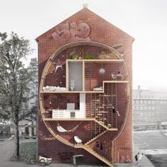 interesting concepts - #architecture #urbanplanning Live Between Buildings by Mateusz  Mastalski and Ole Robin Storjohann