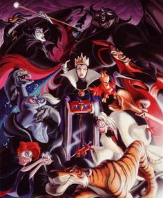 Villain: A wicked or evil person; Other titles in my Disney list colle Disney Magic, Disney Pixar, Walt Disney, Evil Disney, Disney Dream, Disney Villains, Disney And Dreamworks, Disney Girls, Disney Animation