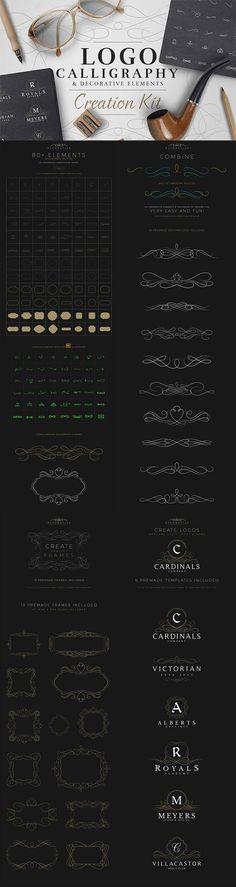 Calligraphy & Logo Creation Kit