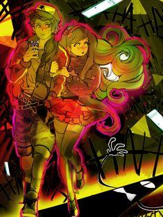 Gravity falls Mabel and Dipper Pines Reverse Gravity Falls, Gravity Falls Fan Art, Reverse Falls, Dipper Y Mabel, Mabel Pines, Dipper Pines, Manga, Monster Falls, Grabity Falls