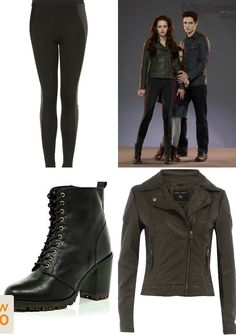 I love this look for Bella in Twilight: Breaking Dawn part 2 movie. #fashion