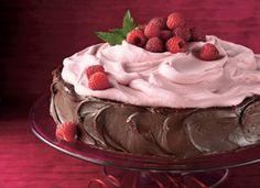 raspberry fudge torte...