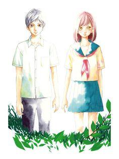 Kou x Futaba - Ao Haru Ride / Blue Spring Ride