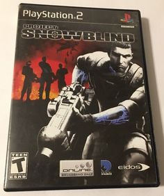 Project: Snowblind (Sony PlayStation 2, PS2, 2005) COMPLETE  | eBay