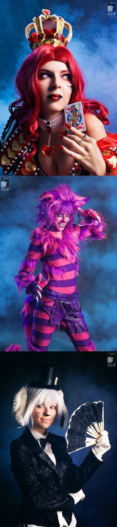 Alice in Wonderland #Cosplay #collection by kifir.deviantart.com/