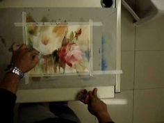 VIDEO: Flamboyant flowers in watercolour - How To - Artists & Illustrators - Original art for sale direct from the artist