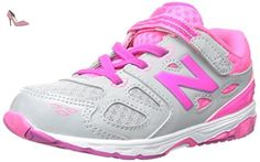 New Balance KL574V1 Grade Breathe Pack Fashion Sneaker (Big Kid), Pink/White, 36 M EU