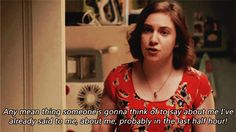 """When you're your own worst critic. 