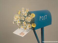 flower post