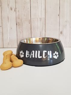 Personalised dog bowls only for the small and for the large! Also available in white 🐶 Dog Photo Frames, Little Girl Pictures, Sweet Jars, Dog Treat Jar, Gotcha Day, Personalised Frames, Dog Bag, Jar Gifts, Dog Treats